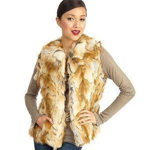 NWOT Rachel Zoe Faux Fur Vest XL